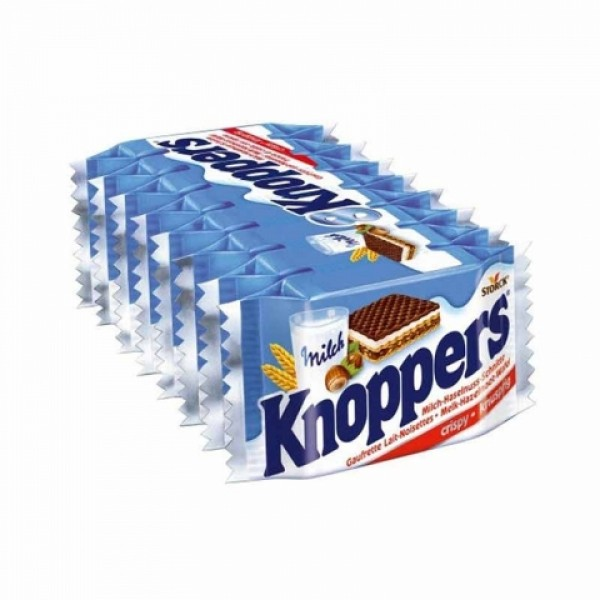 Knoppers 巧克力榛子威化饼干 8块 (澳版)
