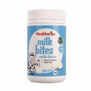 Healtheries 牛奶咀嚼片 草莓味儿童适用 50片 临期规格