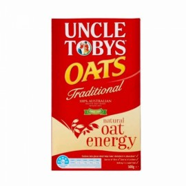 Uncle Tobys 托比叔叔原味燕麦片营养早餐 500g 临期规格