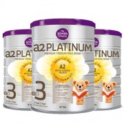 A2 白金婴儿奶粉3段 900g 3罐